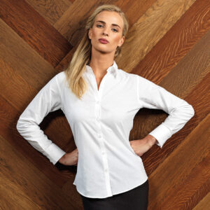 Premier Women's Signature Oxford Long Sleeve Shirt