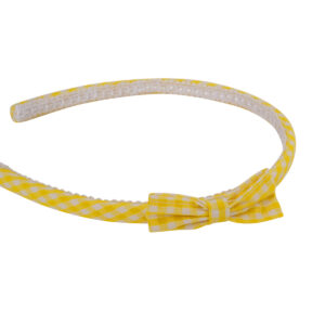 Gingham Hairband