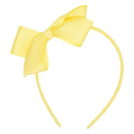 Daffodil Twist Bow Hairband