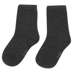 PEX Twin Pack Ankle Socks - Charcoal
