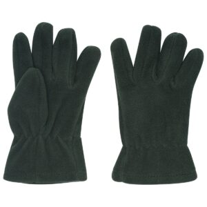 Fleece Gloves - Green
