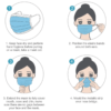How to wear a face mask